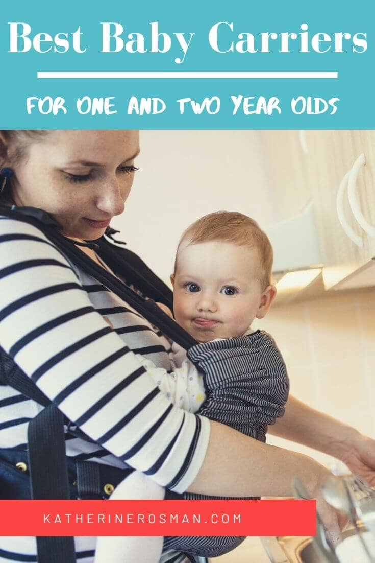 Best baby carrier for one and two years olds
