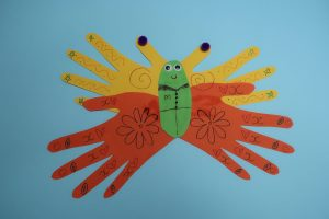 Butterfly Hand Craft Idea for Kids