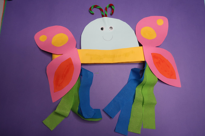 Butterfly Headband Craft