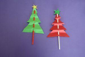 Christmas TreePaper CraftActivity for Kids