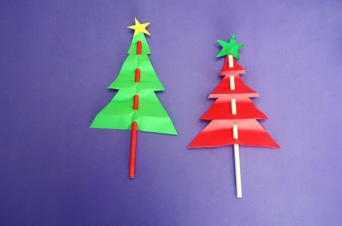 Christmas Tree Paper Craft