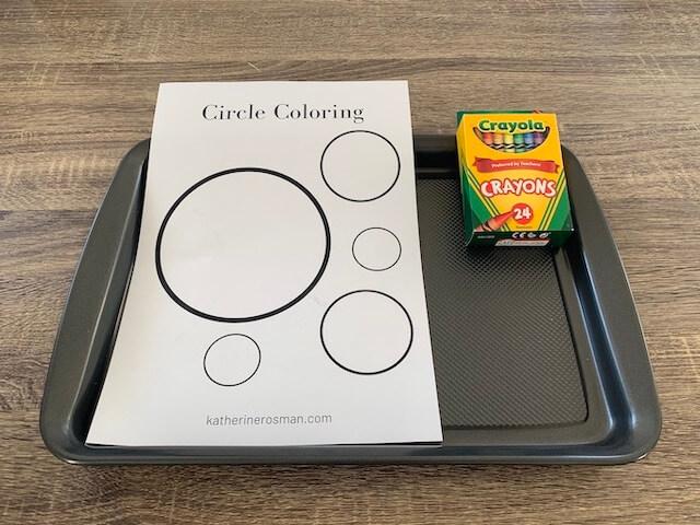 Circle Coloring Materials