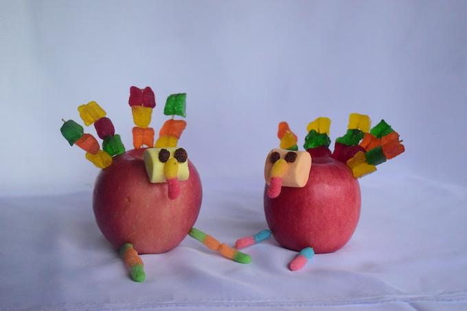 Complete Apple Turkey Craft