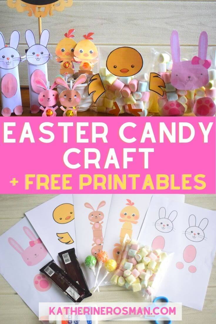 Easter Candy Craft Ideas for Kids
