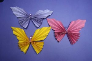 Easy Butterfly Paper Craft Idea for Kids