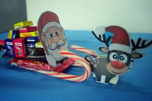 Edible Candy Santa SleighCraft