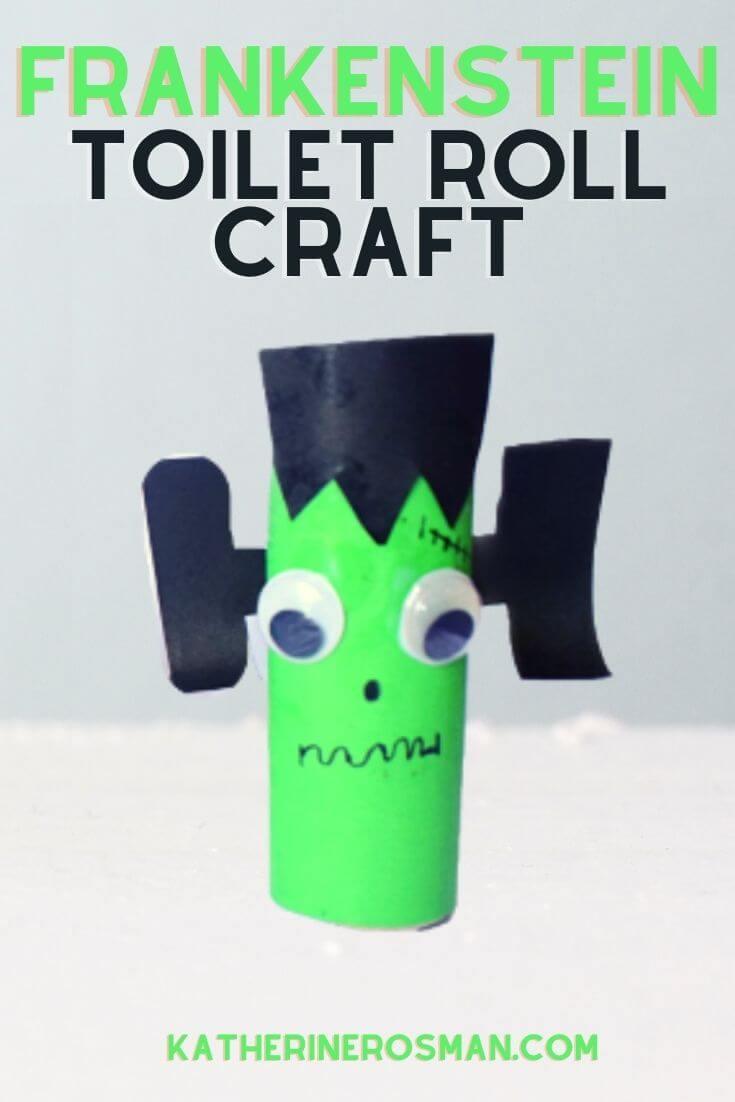 Frankensteins Monster Toilet Roll Craft Project