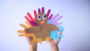 Hand Turkey Craft