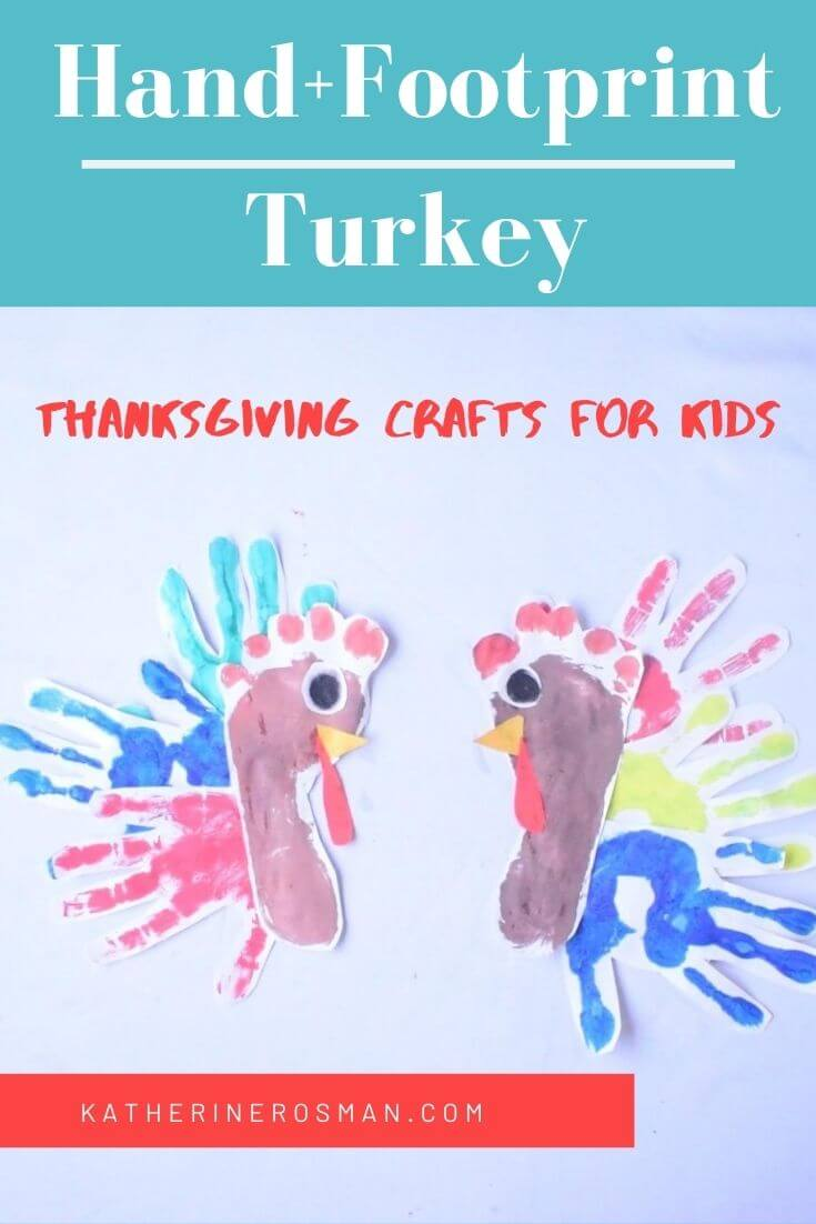 Hand and Footprint Turkey Craft