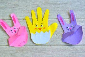 Homemade Easter Card Craft for Kids