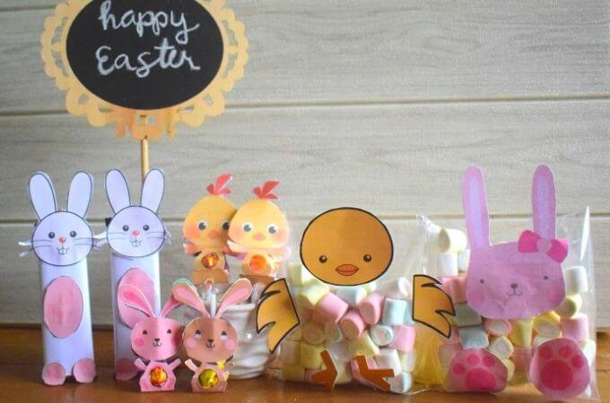 How to Make Easter Candy Crafts