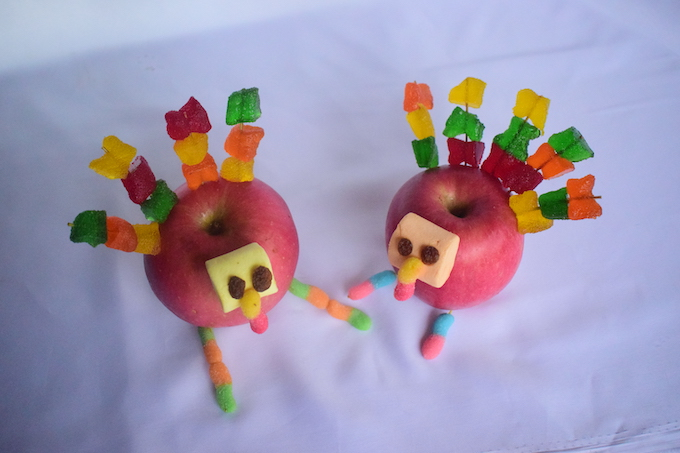 How to Make an Apple Turkey Craft
