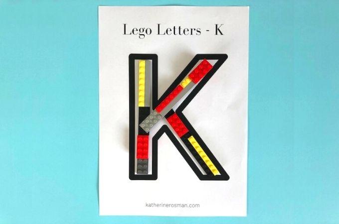 Lego Letter K