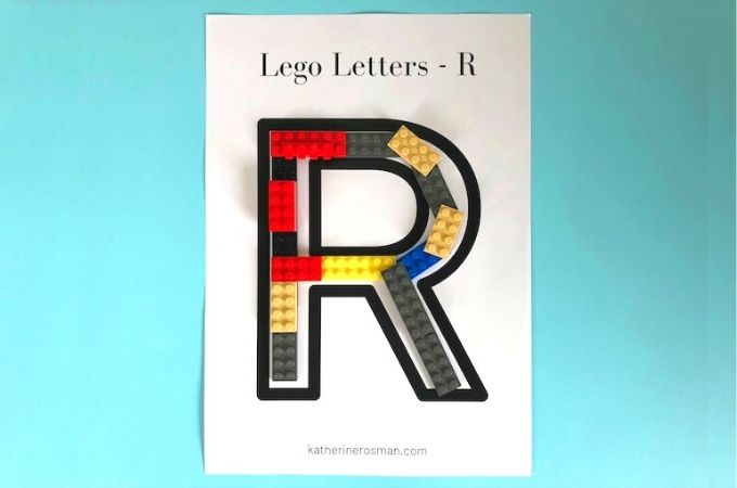Lego Letters R