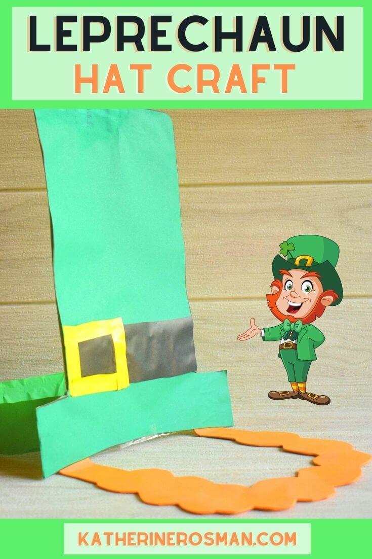 Leprechaun Hat Craft Plus Beard for Kids
