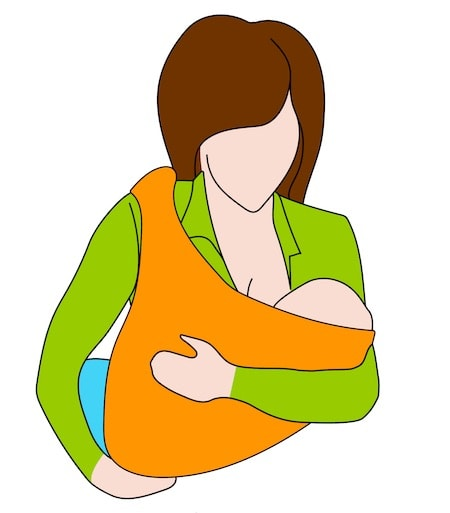 Nursing Sling Positioning
