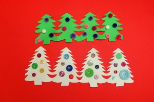 Paper Chain Christmas Tree Craft