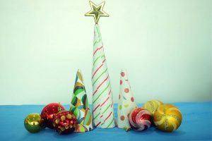 Paper Mache Christmas Craft Activity