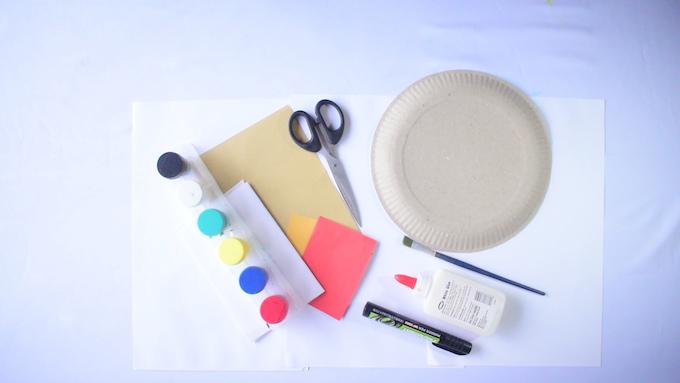 Paper Plate Craft - Thanksgiving Turkey