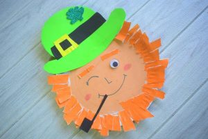 Paper Plate Leprechaun Craft Idea for Kids