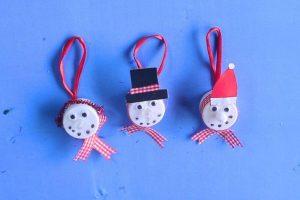Snowman Tea Light Craft