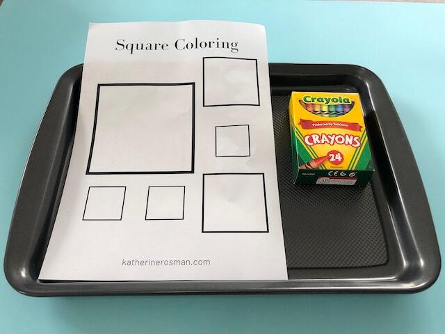 Square Coloring Materials