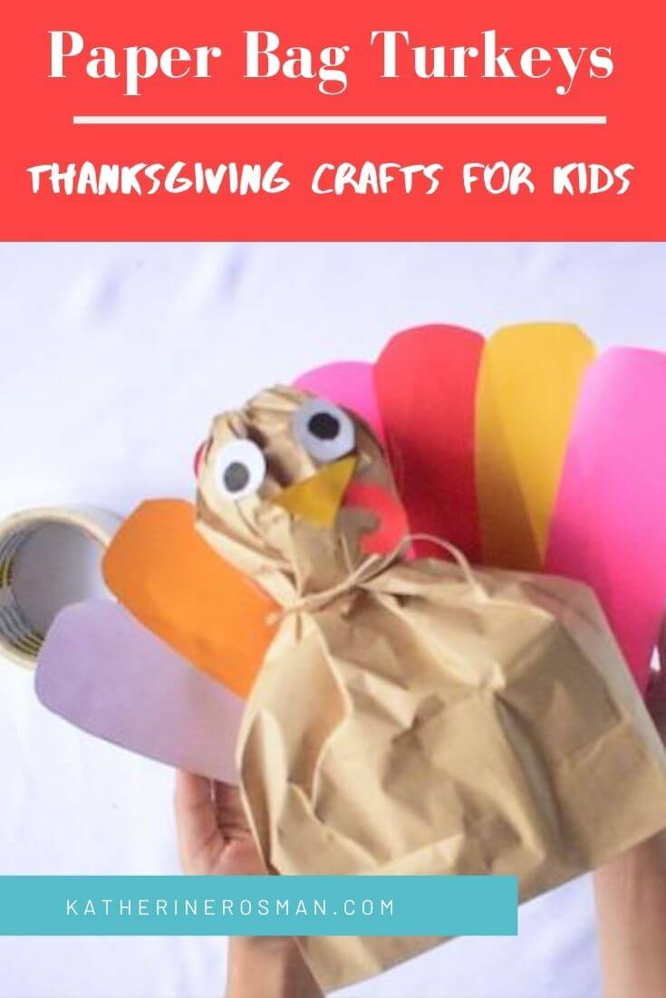 Stuffed Paper Bag Turkey Craft
