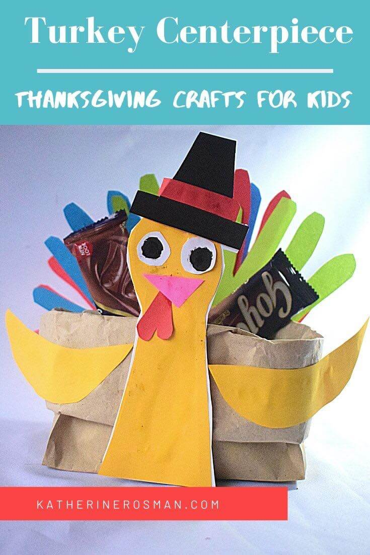 Thanksgiving Turkey Centerpiece Craft