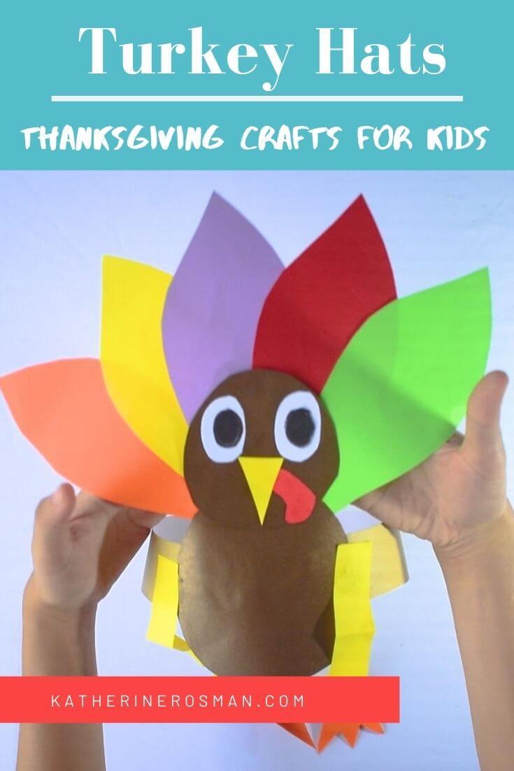 Thanksgiving Turkey Hat Craft