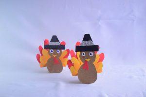 Toilet Roll Thanksgiving Turkey Craft Idea