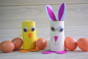 Toilet Roll Easter Bunny Craft Idea