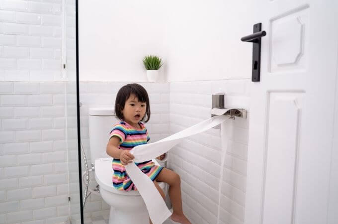 Toilet Training Toddler