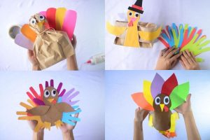 Turkey Craft Ideas for Toddlers and Preschoolers