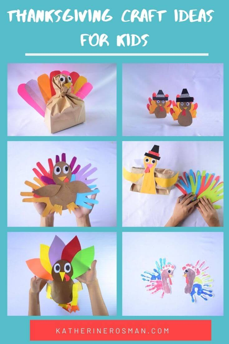 Turkey Craft Ideas for kids Toddlers and Preschoolers