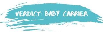 Verdict Baby Carrier
