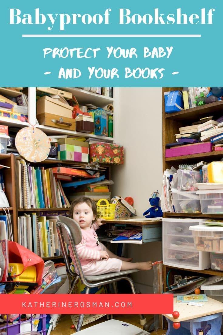 baby proof bookshelf