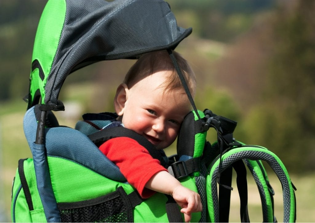 f50405687c9 Best Baby Carrier for Hiking (Updated) - Family Outdoor Fun in Safety and  Comfort!