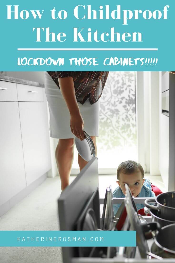 best baby proofing for kitchen cabinets