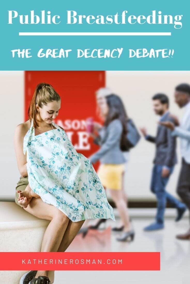 breastfeeding in public debate