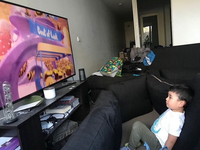child proof flat screen tv