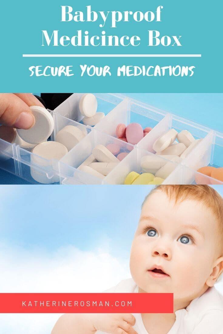 child proof medicine storage
