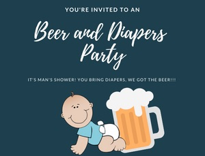 diaper party for dads