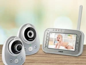 dual screen baby monitor