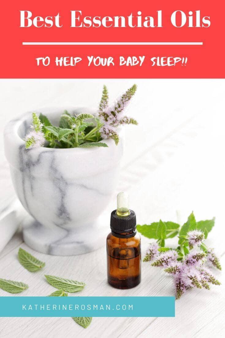 essential oils to help baby sleep through the night