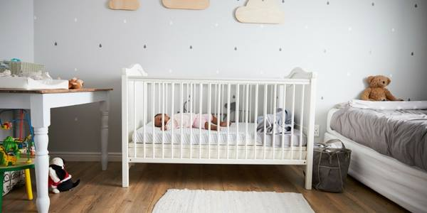 co-sleeping to crib