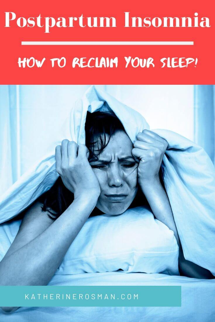 how long does postpartum insomnia last