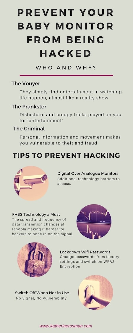 prevent baby monitor hacking
