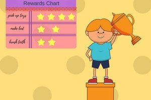 reward system for child copy