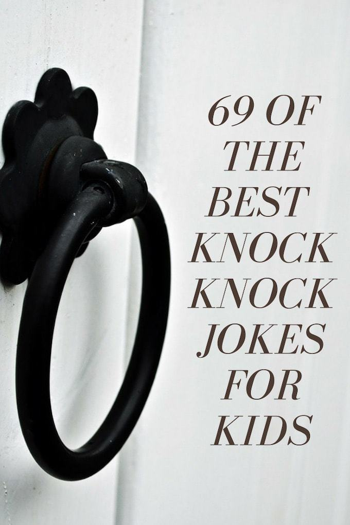 simple knock knock jokes for children