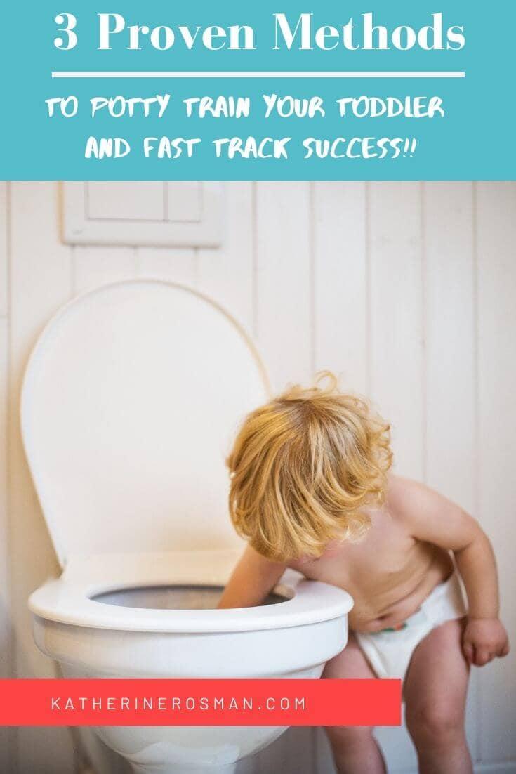 toilet training toddler methods